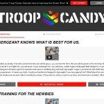 Troopcandy.com Sign Up Form
