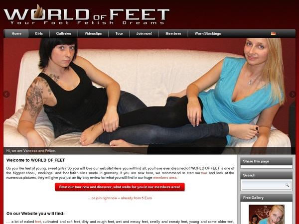 World-of-feet.net Hack Login