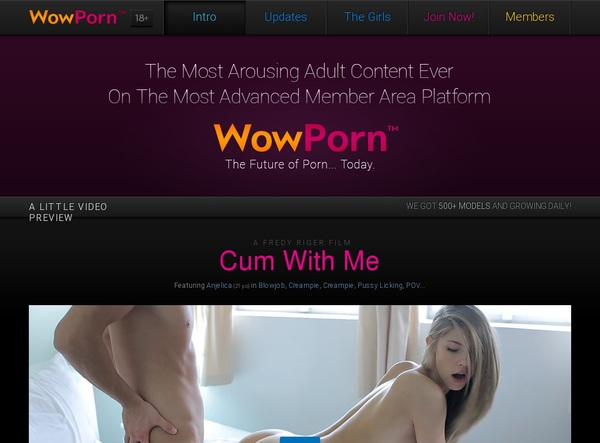 Wow Porn Premium Password