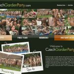 Xxx Czech Garden Party