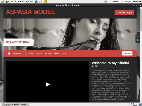 Aspasia Model Free Movies