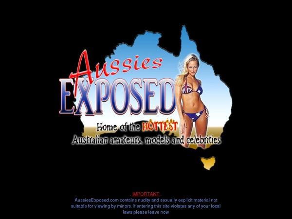 Aussiesexposed Password Site