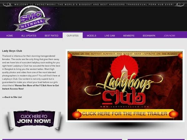 Ladyboysclub.com Free Username