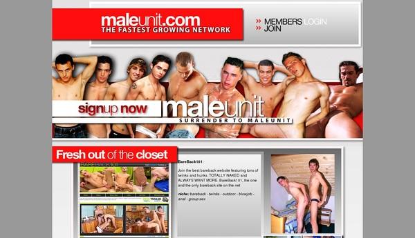 Maleunit.com Discount Sale