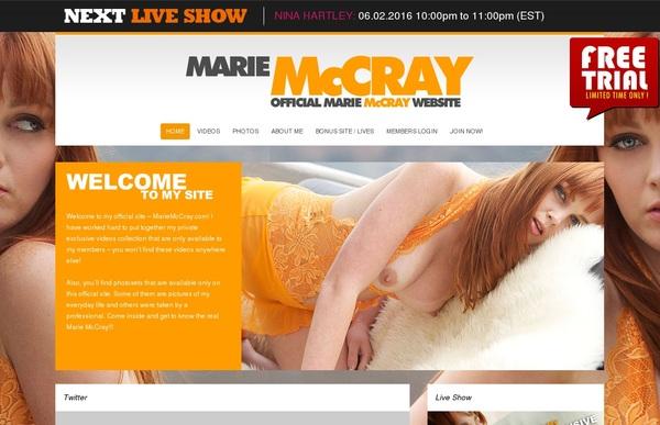 Free Mariemccray.com Full