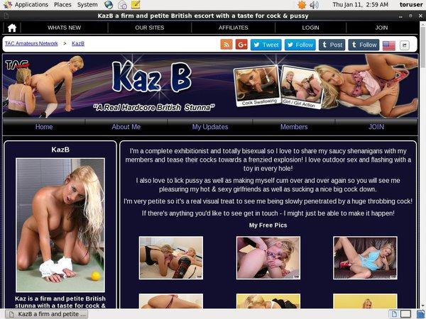 Kaz B Try Free
