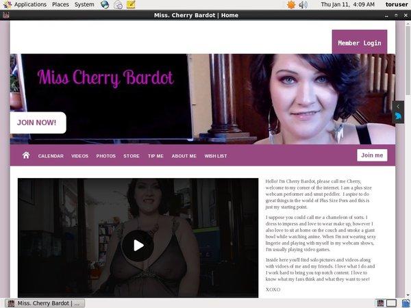 Miss. Cherry Bardot Discount Save 50%