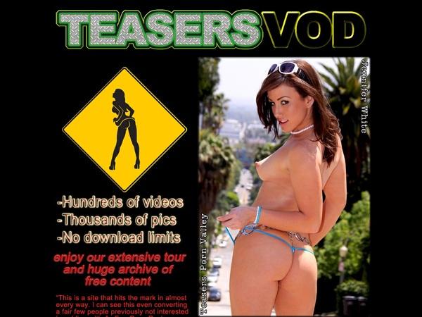 Teasers VOD Logon