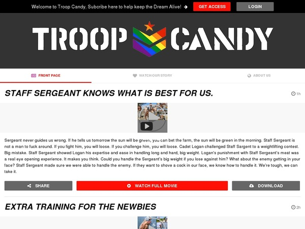 Troop Candy Idealgasm