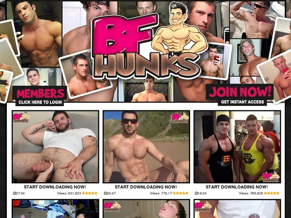 BF Hunks Discount Special