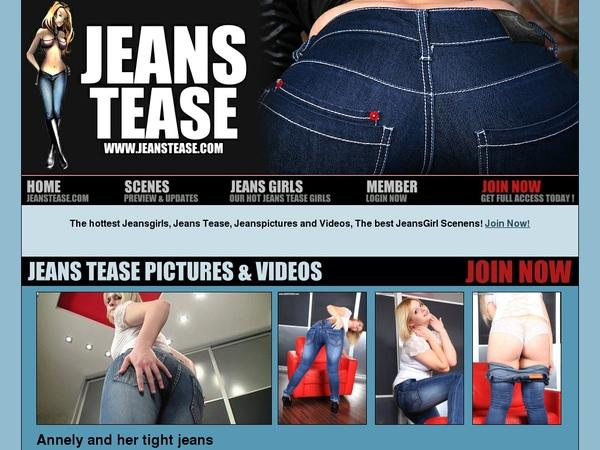 Jeans Tease Premium Acc