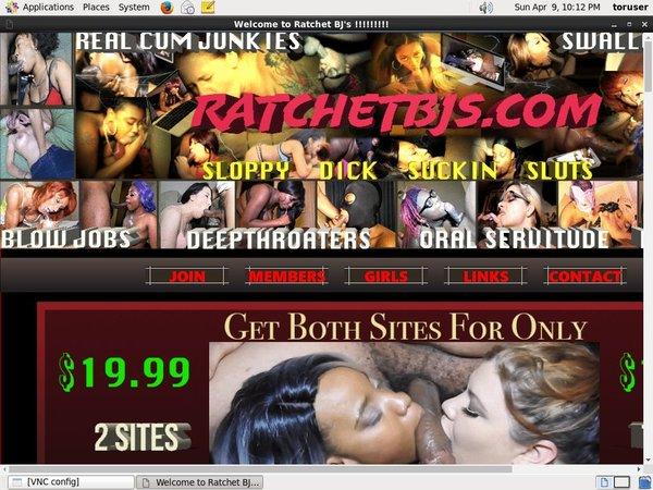 Ratchetbjs.com With Bank Pay