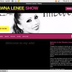 Shawna Lenee Show Join With SMS