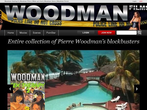 Woodman Films Checkout Page