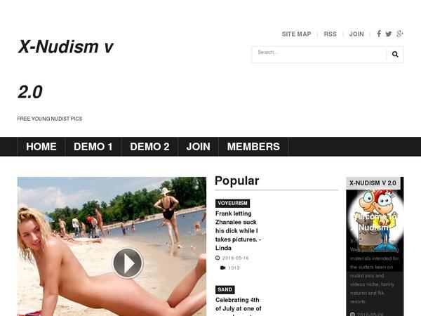 X-nudism Free Accounts