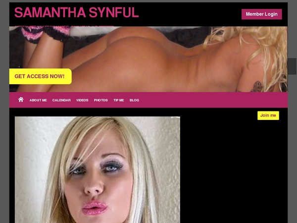SAMANTHA SYNFUL Paypal Register