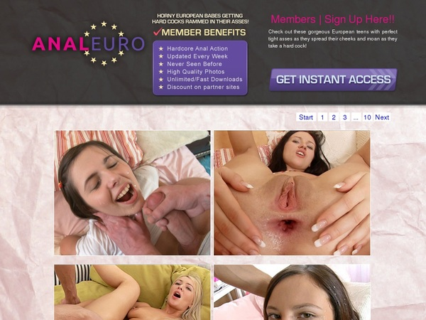 Anal Euro Free Trial Promotion