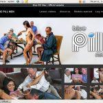 Blue Pill Men Website Accounts