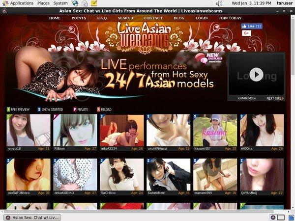 Liveasianwebcams.com Passwords