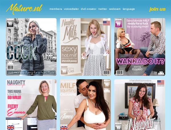 Register For Mature.nl