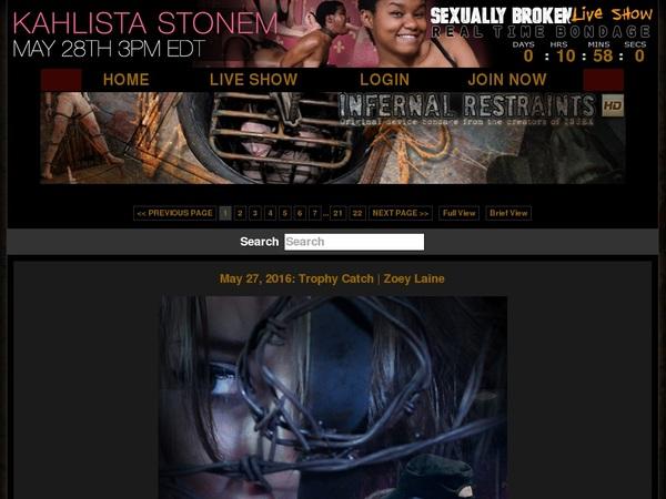 Infernal Restraints Discount Site