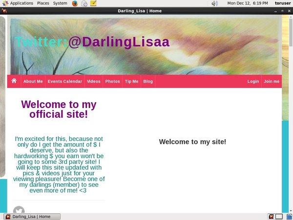 Darling Lisa Free Tube