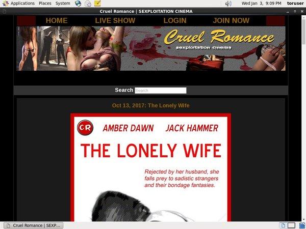 Special Cruel Romance Discount