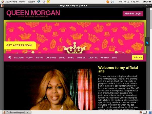 Thequeenmorgan.net Porn Stars