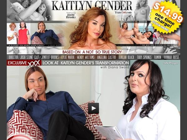 Kaitlyn Gender Account 2016