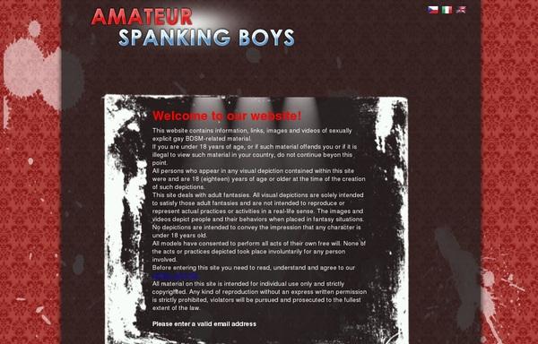 Amateurspankingboys Logins For Free