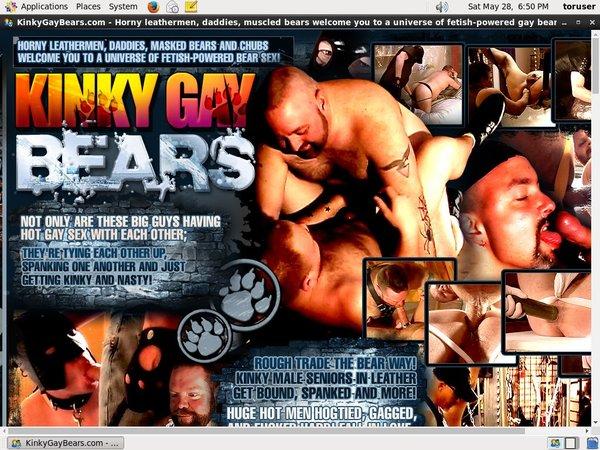Kinky Gay Bears Mobile Pass