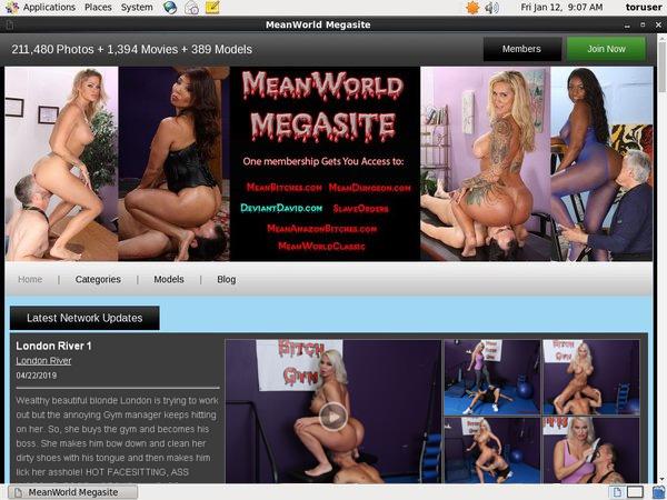 Meanworld.com 암호