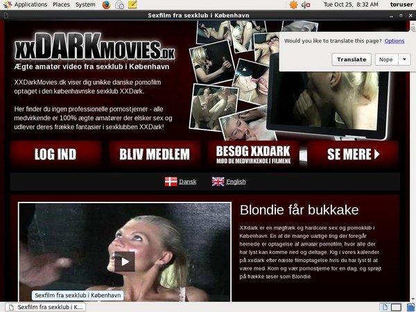 New Free XX Dark Movies Dk Accounts