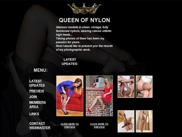 Queen Of Nylon 1 Day Trial
