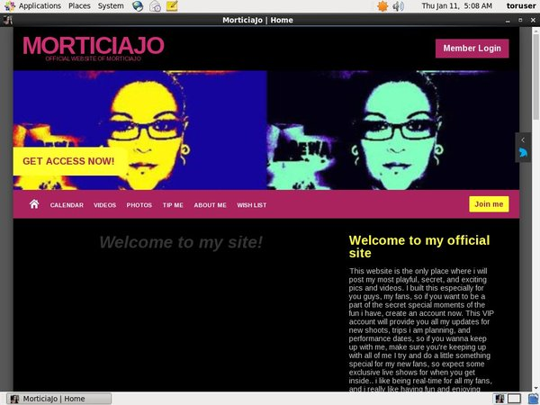 Subscribe To MorticiaJo