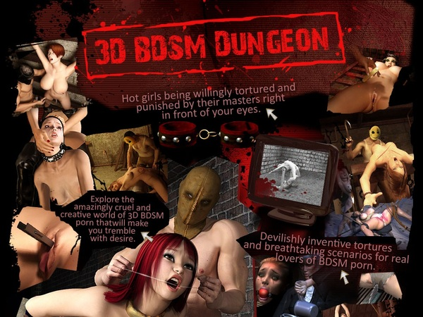 3D BDSM Dungeon With Discount