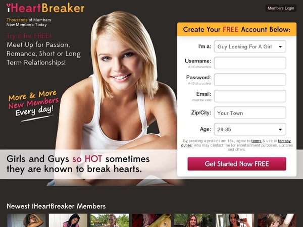 Iheartbreaker Full Account