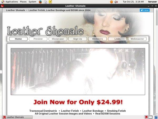Leathershemale.com Pass Free
