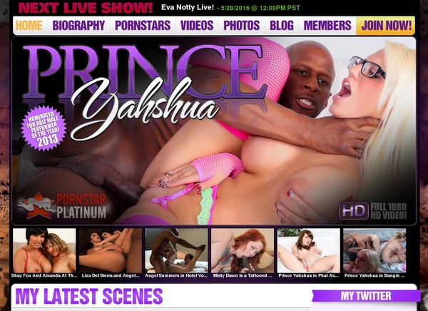 Princeyahshua.com Users