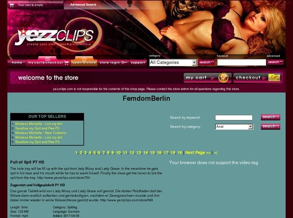Yezzclips.com Porn Site