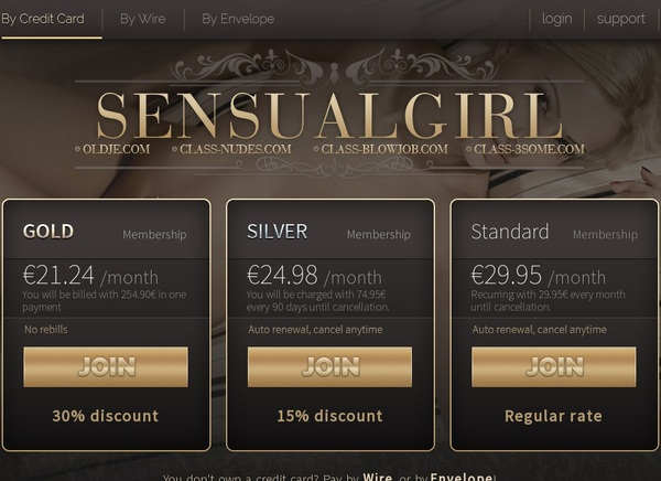 Log In Sensual Girl