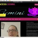 PrincessGemini Paysite