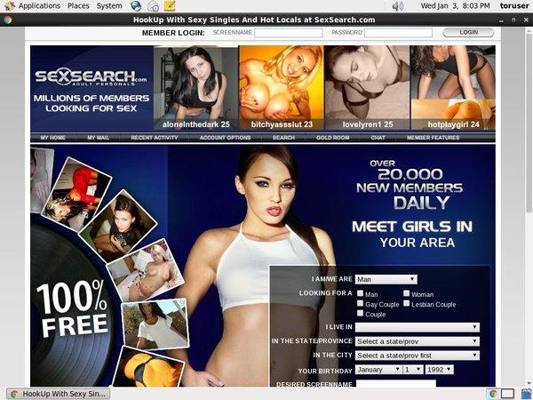 Sex Search Membership Deal
