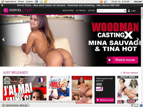 Free Accounts For Dorcel Vision