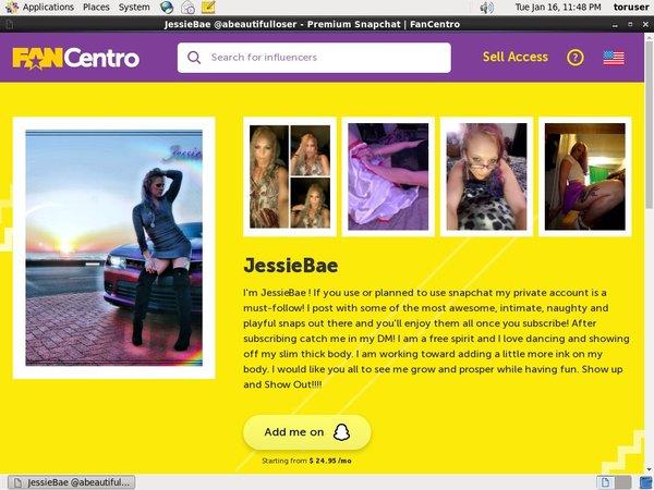 JessieBae Stolen Password