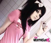 My Alternative GF teen gf