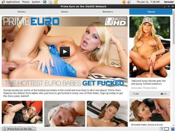 Prime Euro Full Episode