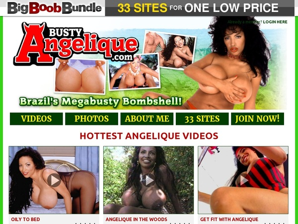 Bustyangelique.com Trial Membership Free