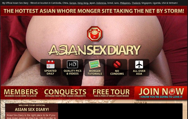 Asiansexdiary Password Account