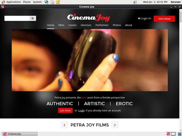 Cinema Joy Accont